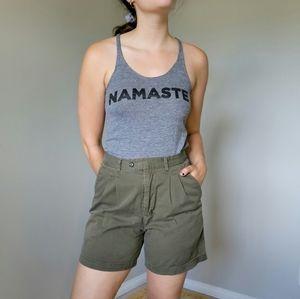 Spiritual Gangster Namaste Halter Tank Grey